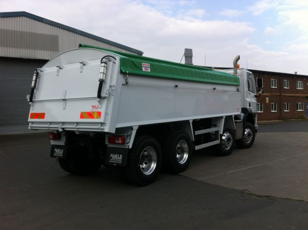 2018  (67 Reg) DAF Construction Tipper with Aliweld Asphalt Tipping Body