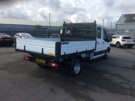 2016 Ford Transit 350 One Stop Double Cab 1 Way Tipper