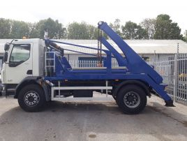 68 Reg 2018 DAF LF Hyva Skiploader  •  Also available for  Hire
