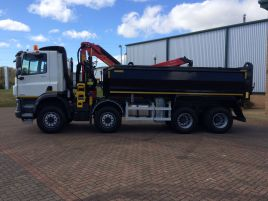 2018 DAF CF Construction Tipper Grab   •   Also available for Hire